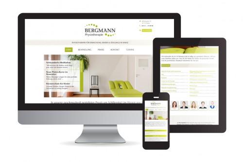 BERGMANN Webdesign Mockup