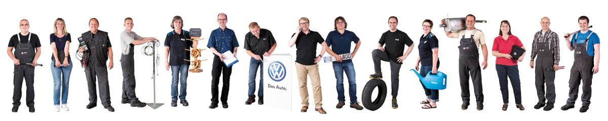 Autohaus-Reuter-Mitarbeiter-Banner
