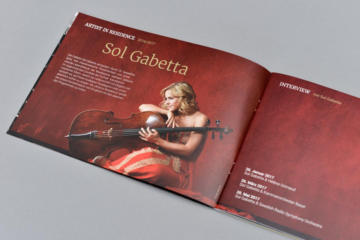 PRO ARTE Konzertbroschüre Saison 2016/2017