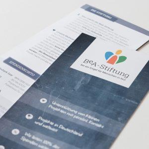 Prospekt über die BeA-Stiftung
