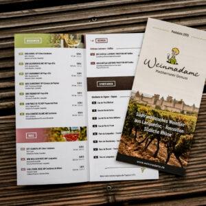 Weinmadame Preisliste