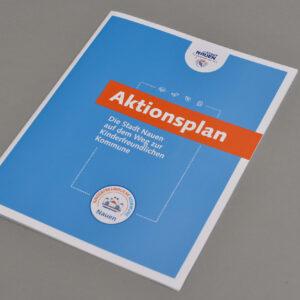 Bilder der Aktionsplan-Broschüre
